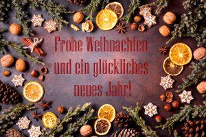 Fröhe Weihnachten!